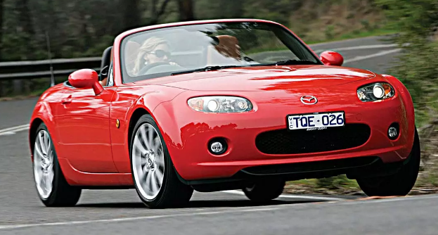 2005 Mazda speed Miata MX-5 Owners Manual