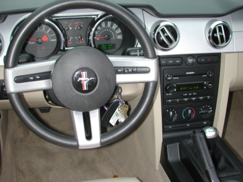 2006 Ford GT Interior and Redesign