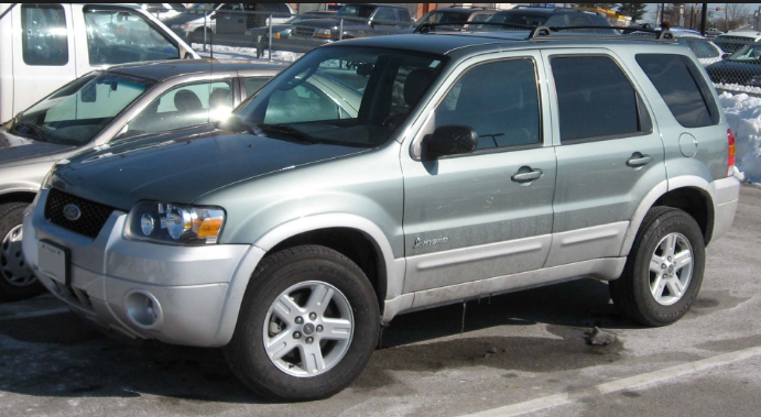2007 Ford Escape Hybrid Owners Manual