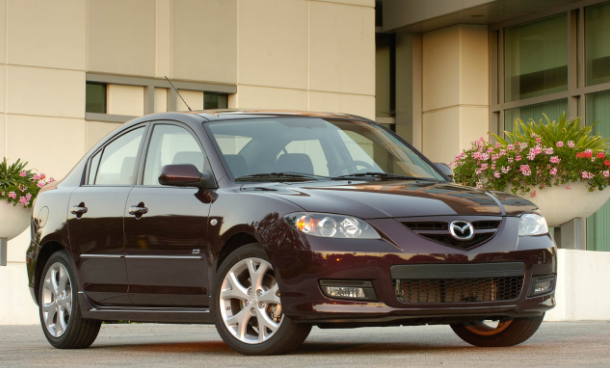 2008 Mazda Speed 3 Owners Manual