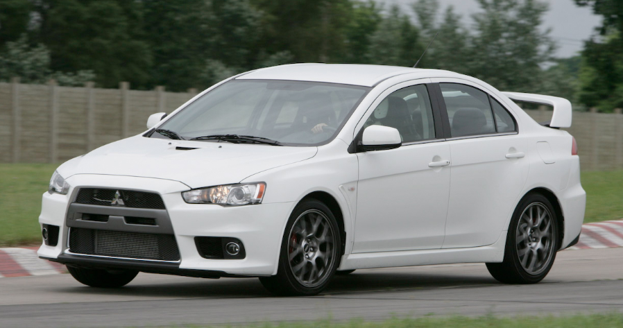 2008 Mitsubishi Lancer Evolution Owners Manual
