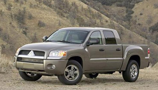 2008 Mitsubishi Raider Owners Manual