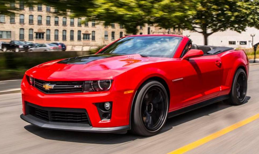 2013 Chevrolet Camaro ZL1 Owners Manual