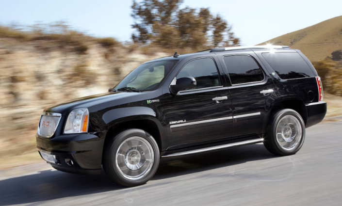 2013 GMC Yukon Hybrid Owners Manual