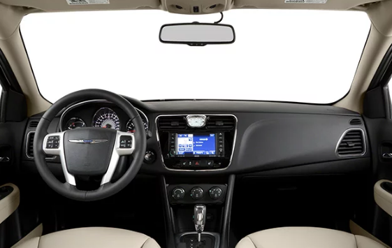 2014 Chrysler 200 Interior and Redesign