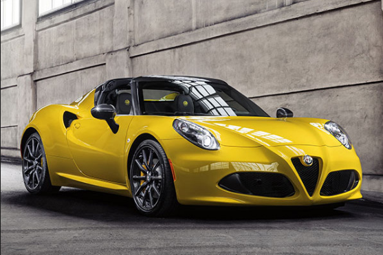 2016 Alfa Romeo 4C Spider Manual PDF