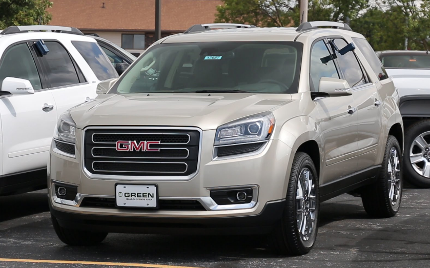 2017 GMC Acadia Limited Owners Manual