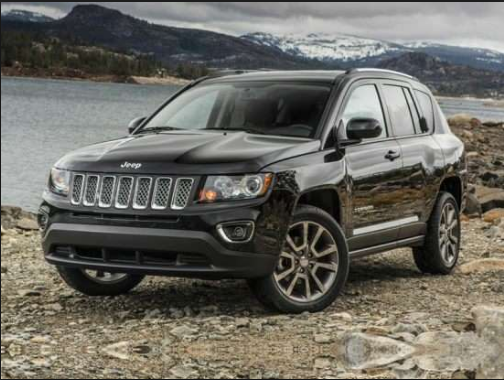 2017 Jeep Compass X Owners Manual