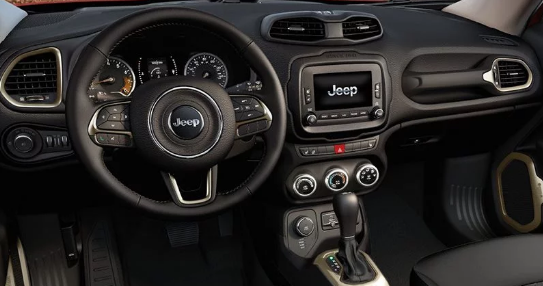 2017 Jeep Renegade Interior and Redesign