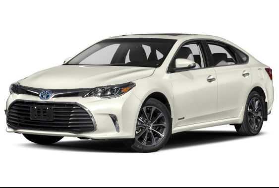 2017 Toyota Avalon Hybrid Owners Manual