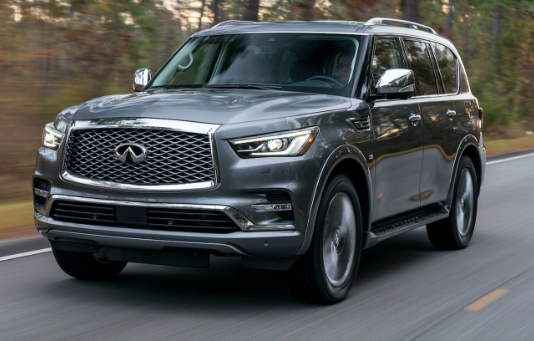 2018 Infiniti QX80 Owners Manual
