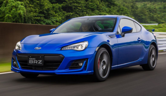 2018 Subaru BRZ Owners Manual