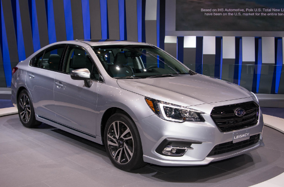 2018 Subaru Legacy Owners Manual