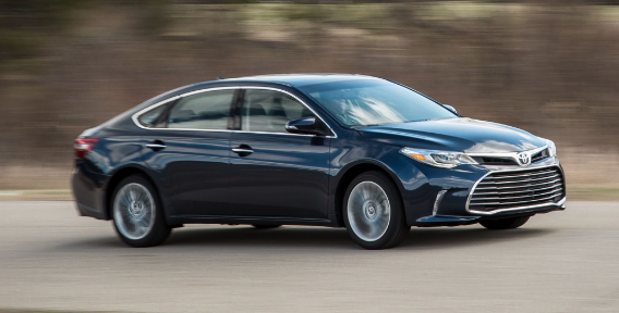 2018 Toyota Avalon Owners Manual
