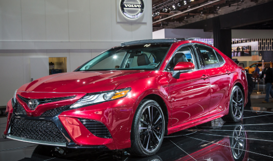 2018 Toyota Camry Owners Manual