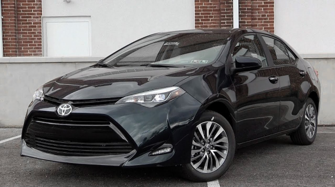 2018 Toyota Corolla Owners Manual