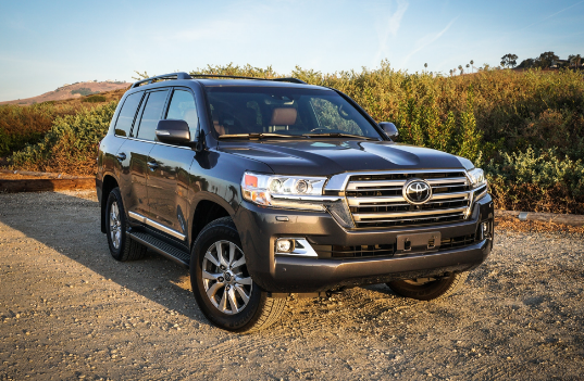 2018 Toyota Land Cruiser Owners Manual