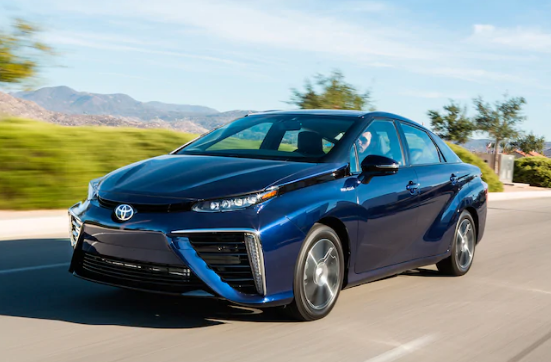 2018 Toyota Mirai Owners Manual
