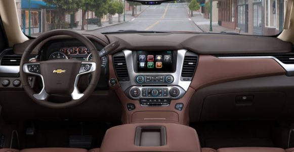 2015 Chevrolet Tahoe Interior and Redesign