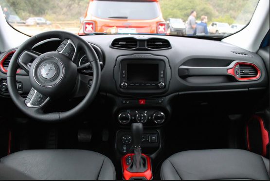 2015 Jeep Renegade Interior and Redesign