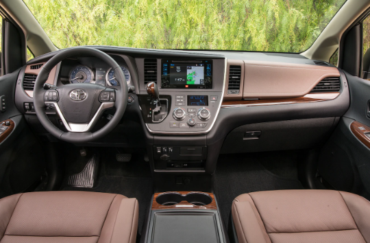 2017 Toyota Sienna Interior and Redesign