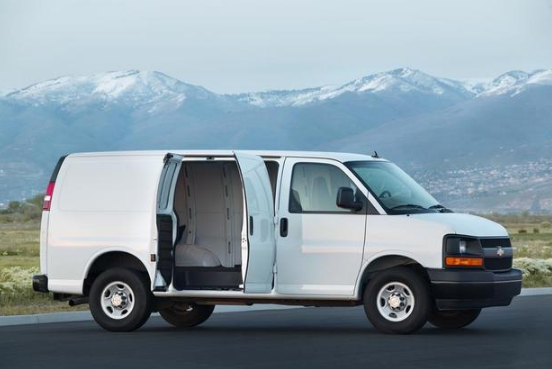 2017 Chevrolet Express 3500 Manual PDF