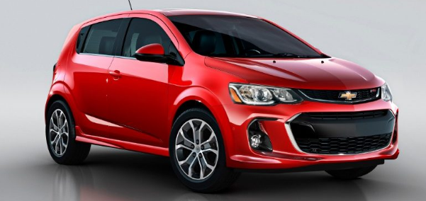 2018 Chevrolet Sonic Owners Manual and Concept