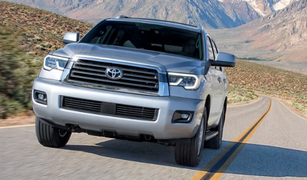 2018 Toyota Sequoia Manual PDF