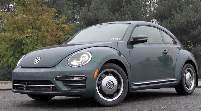 2018 Volkswagen Beetle Owners Manual