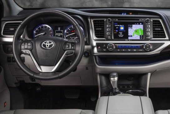 2015 Toyota Highlander Interior and Redesign