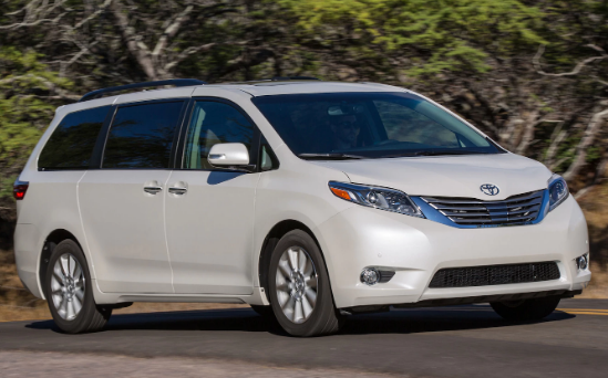 2015 Toyota Sienna Owners Manual