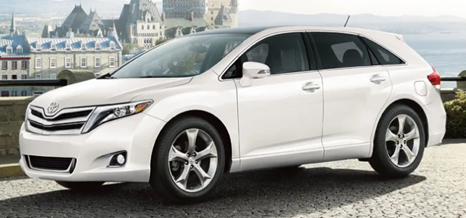 2015 Toyota Venza Owners Manual