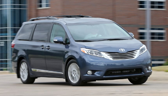 2016 Toyota Sienna Owners Manual