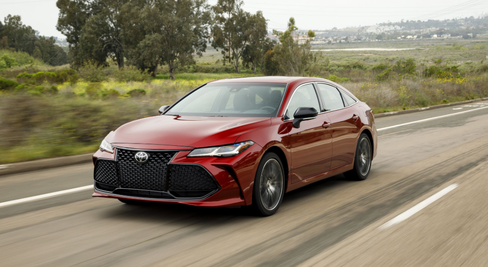 2020 Toyota Avalon Owners Manual