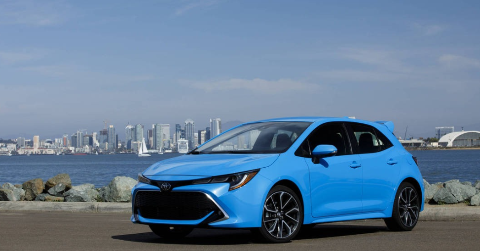 2019 Toyota Corolla Im Owners Manual
