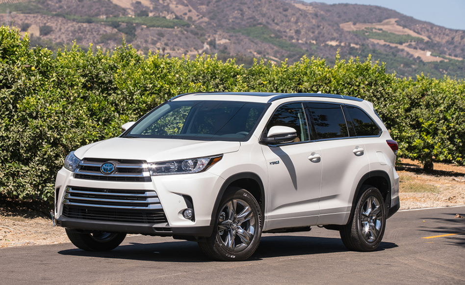 2019 Toyota Highlander Hybrid Owners Manual