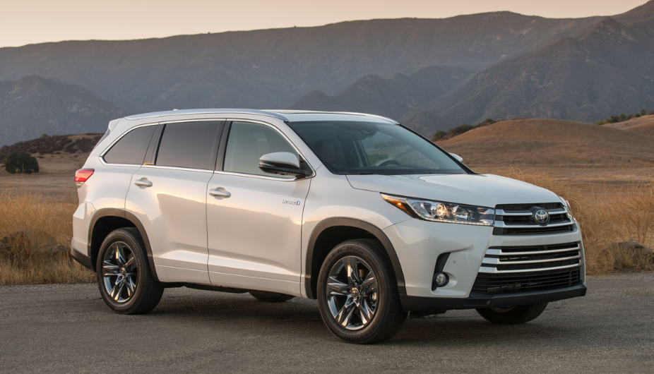2020 Toyota Highlander Owners Manual