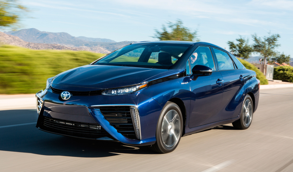 2019 Toyota Mirai Owners Manual