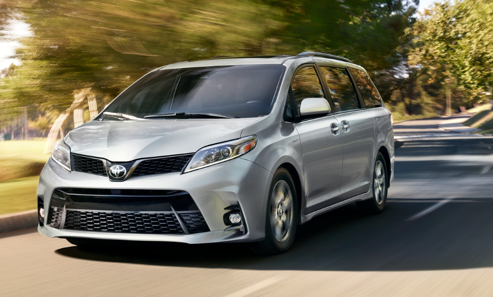 2020 Toyota Sienna Owners Manual