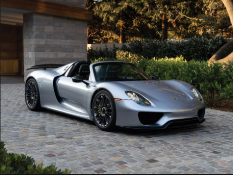 2015 Porsche 918 Spyder Onwers Manual