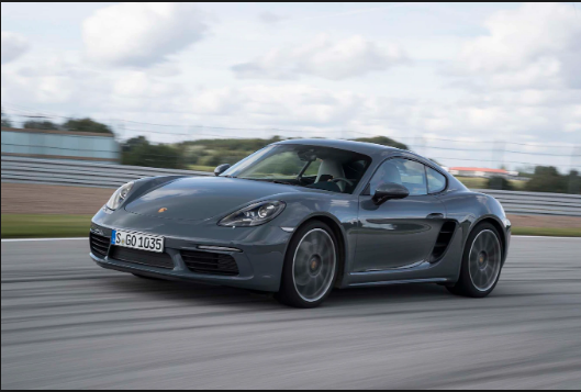 2017 Porsche 718 Cayman Owners Manual