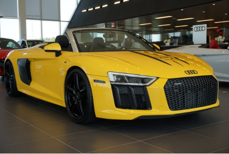 2018 Audi R8 Spyder Owners Manual