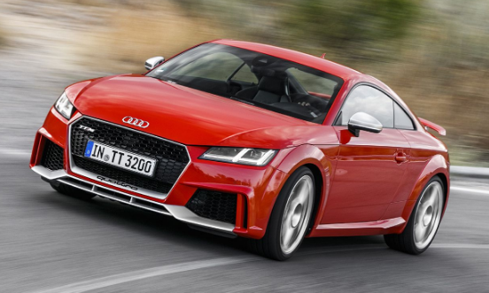 2018 Audi TT Coupe Owners Manual