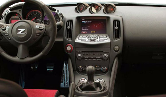 2018 Nissan 370Z Coupe Interior