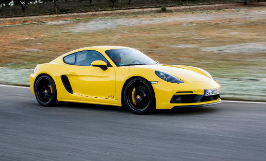 2018 Porsche 718 Cayman Owners Manual