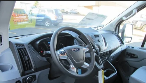 2018 Ford Transit Chassis Interior