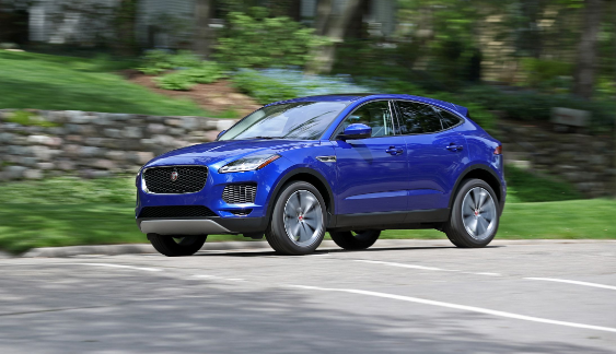 2018 Jaguar E-Pace Owners Manual