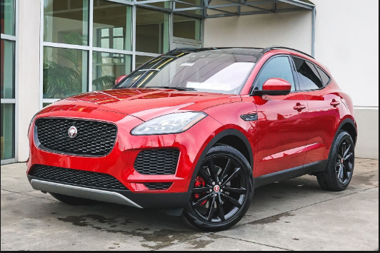 2019 Jaguar E-Pace Owners Manual