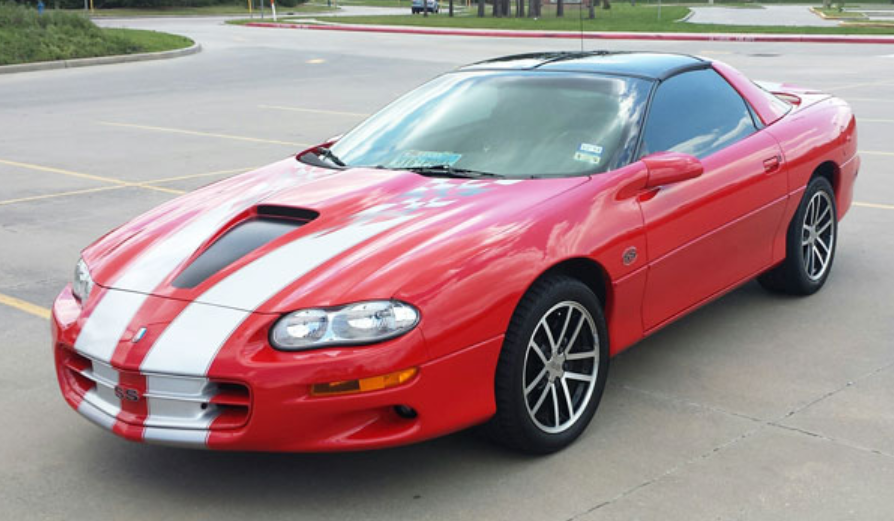 2001 Chevrolet Camaro Owners Manual