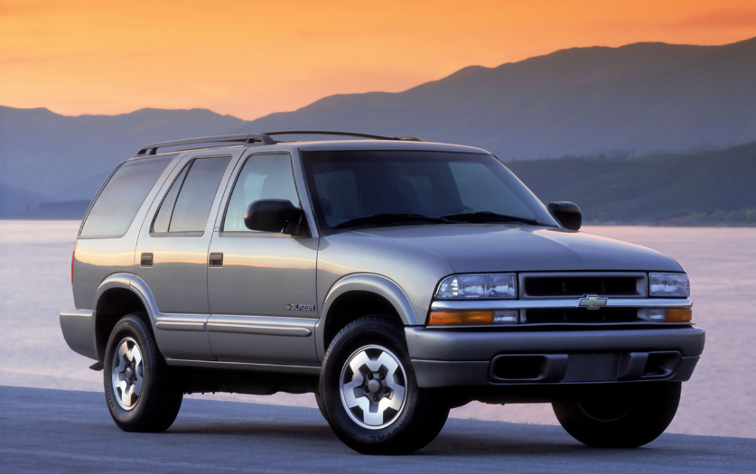 1996 Chevy Blazer Owners Manual